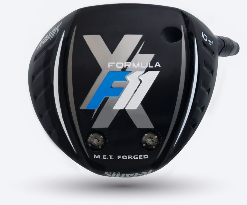 Krank Golf Formula 11 XX driver sole plate